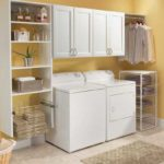 Classica White Laundry Room